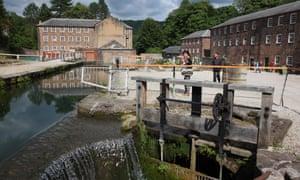 The Mill Yard at Cromford Mills