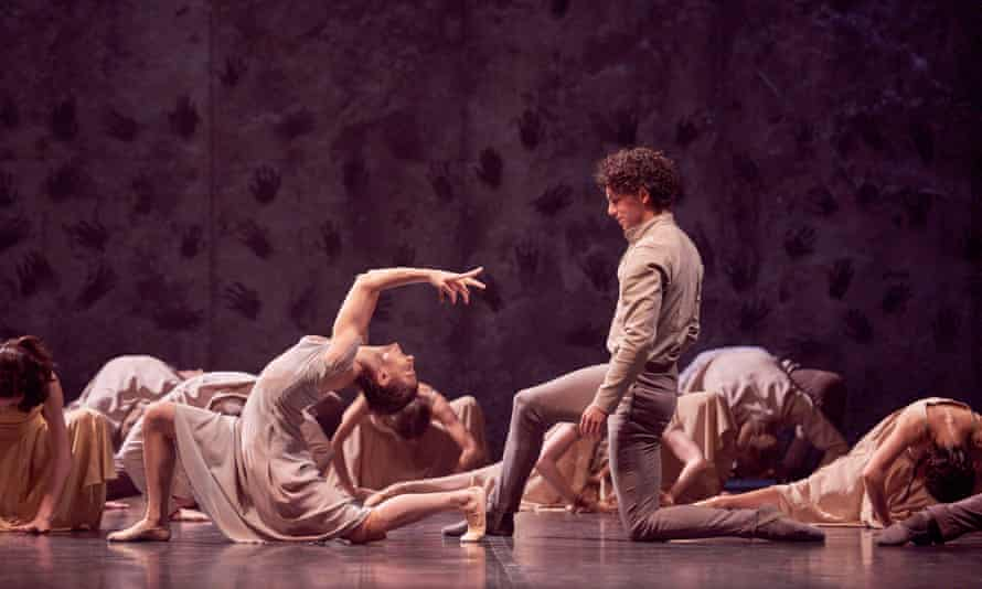 Bend it like Akram… Alina Cojocaru and Isaac Hernández, 'entrancingly sad' in Akram Khan's Giselle.