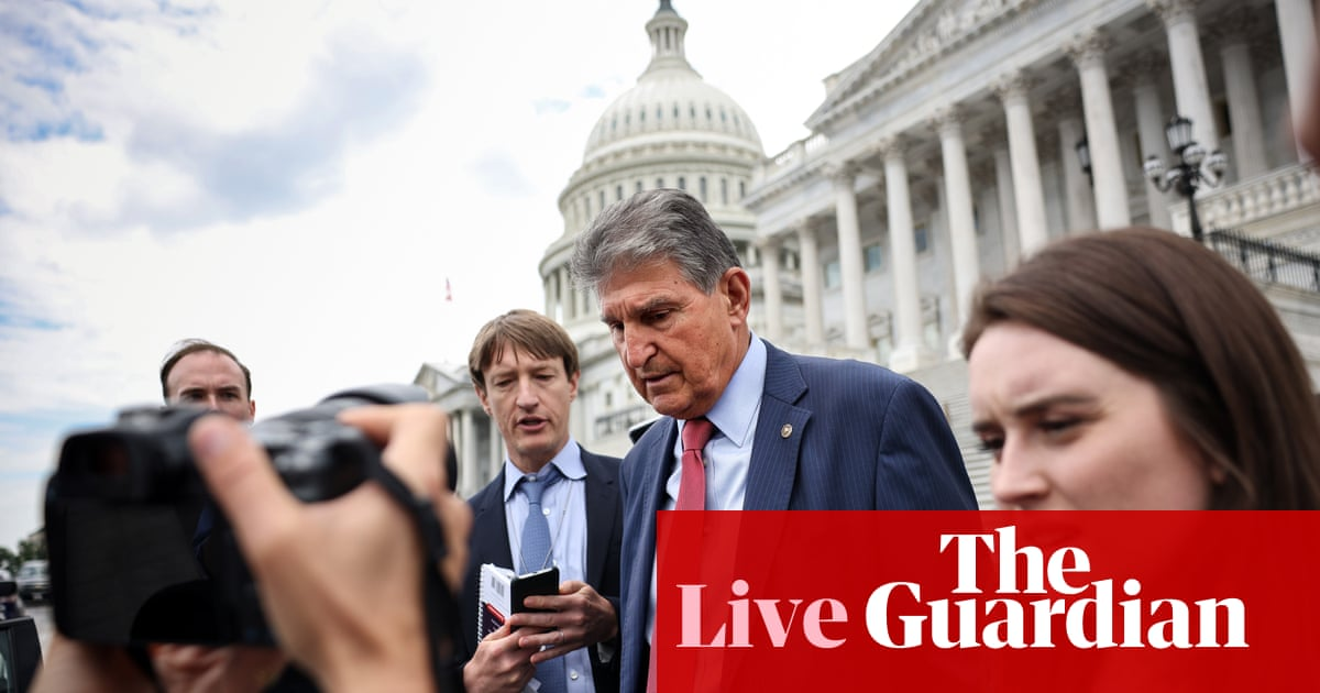 Republicans set to sink Democrats' effort to advance key voting rights bill – live