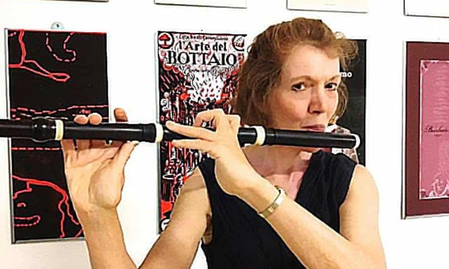 In the 1970s Wendy Hancock learned to play the viol and baroque flute. The former became her hobby and the latter became her work.