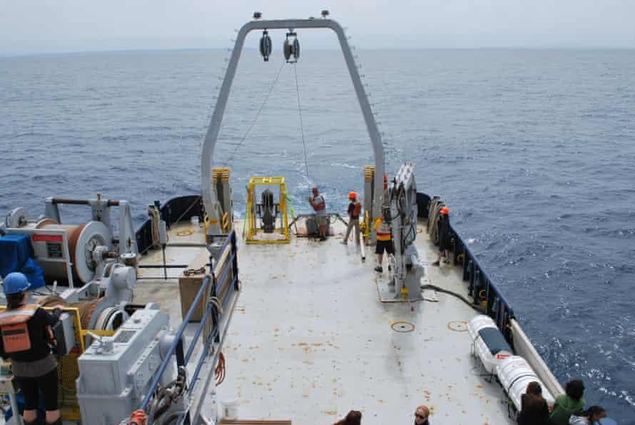 Studies show a multidecadal increase in plastic particles in coastal ocean sediments.