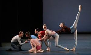 Members of New York City Ballet perform Justin Peck's Rotunda.