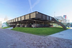 Coffee & Bikes by BureauVanEig/Biq architects in Delft, the Netherlands