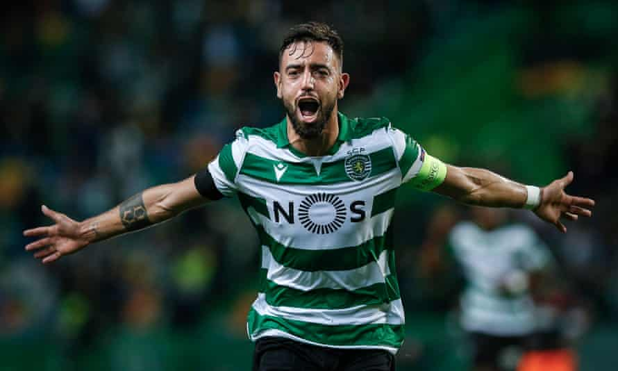 Bruno Fernandes has been with Sporting since 2017.