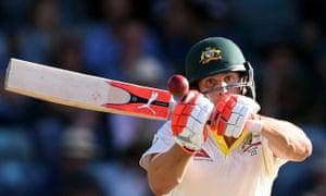 Australia's Mitchell Marsh batting on day three of the Third Test