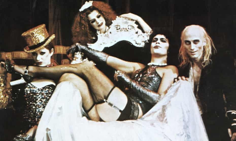 Science and suspenders … Shelley's vision lives on in The Rocky Horror Picture Show (1975).