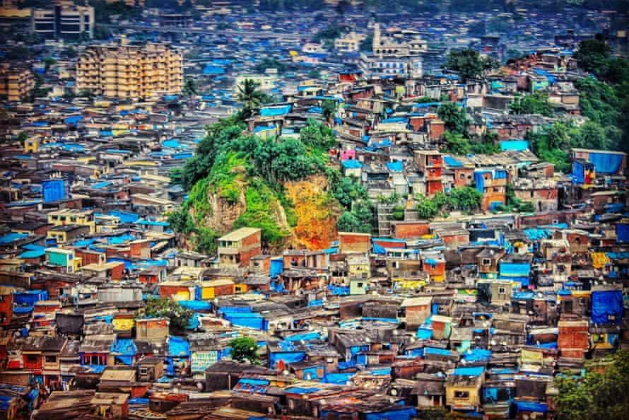 Mumbai's urban sprawl.