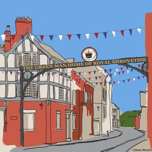 Kate Moore's suggested design for a replacement arch in Ashbourne