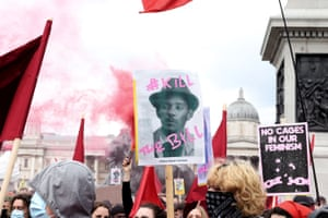 Crowds gather in London for Kill The Bill demonstrating against restrictions on protests and police brutality.