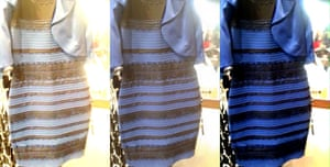 Hue and cry: the colour-changing dress. What colour did you think it was?