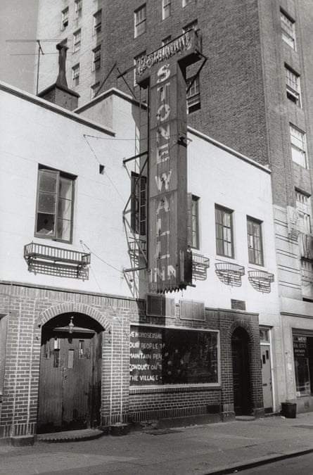 Diana Davies's 1969 shot of the Stonewall Inn in Greenwich Village, site of the riots that would change LGBT activism for ever.