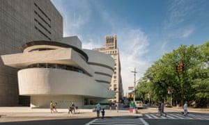 The Solomon R Guggenheim Museum.
