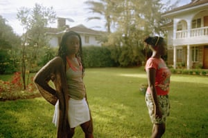 Chebet and Chimu in the Garden, from the series The Other Country