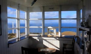 The Lookout, a fantastic spot for whale and dolphin watching.