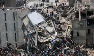 The collapse in 2013 of the Rana Plaza complex