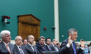 Volkswagen's Michael Horn testifies at the US Congress