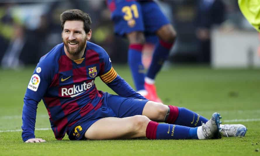 Lionel Messi said: 'The way we are right now I don't think it's enough to win the Champions League.'