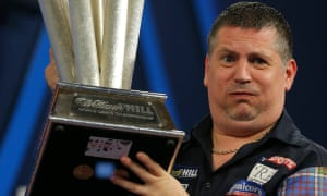 Gary Anderson after winning the world title in January 2016.