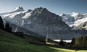 Grindelwald, Switzerland. from heavenpublicity.co.uk