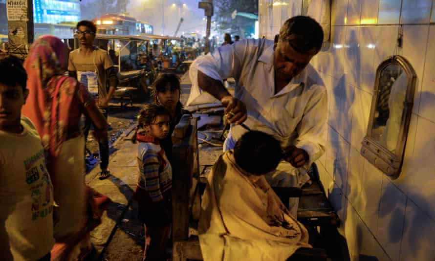 Slum in New Delhi