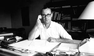 Ingvar Kamprad at his desk in the 1960s