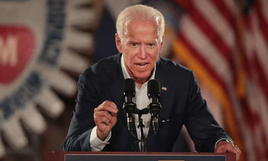 Joe Biden campaigns in Missouri.