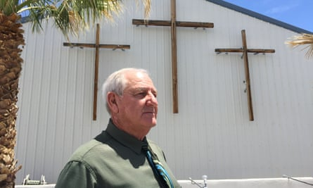Pastor Budd Hawk is a leading proponent of the campaign to ban brothels in two Nevada counties.