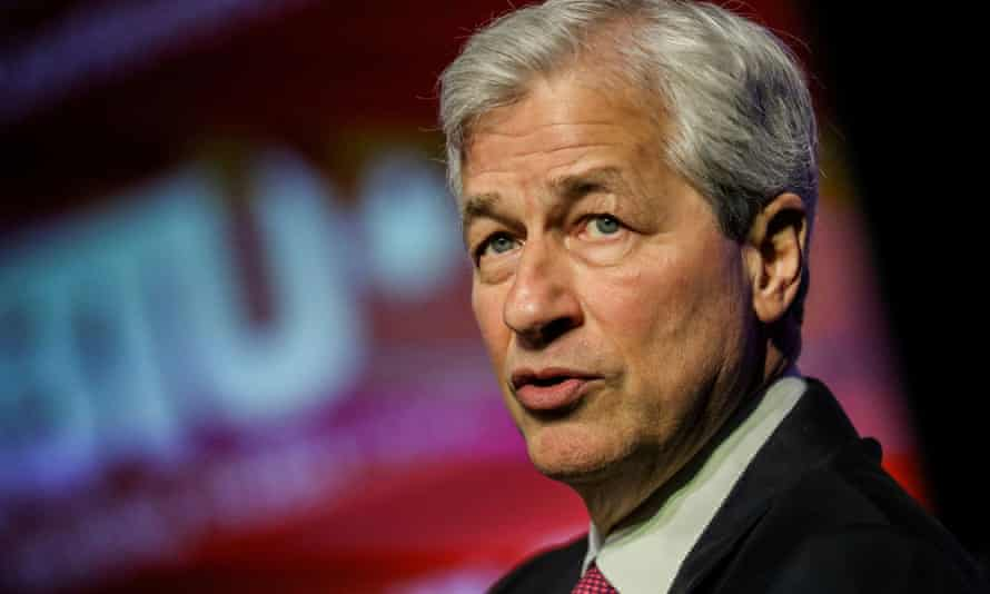 Jamie Dimon of JP Morgan