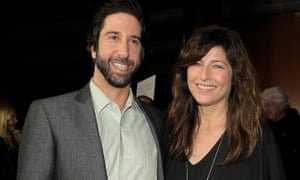 Homecoming stars David Schwimmer and Catherine Keener.
