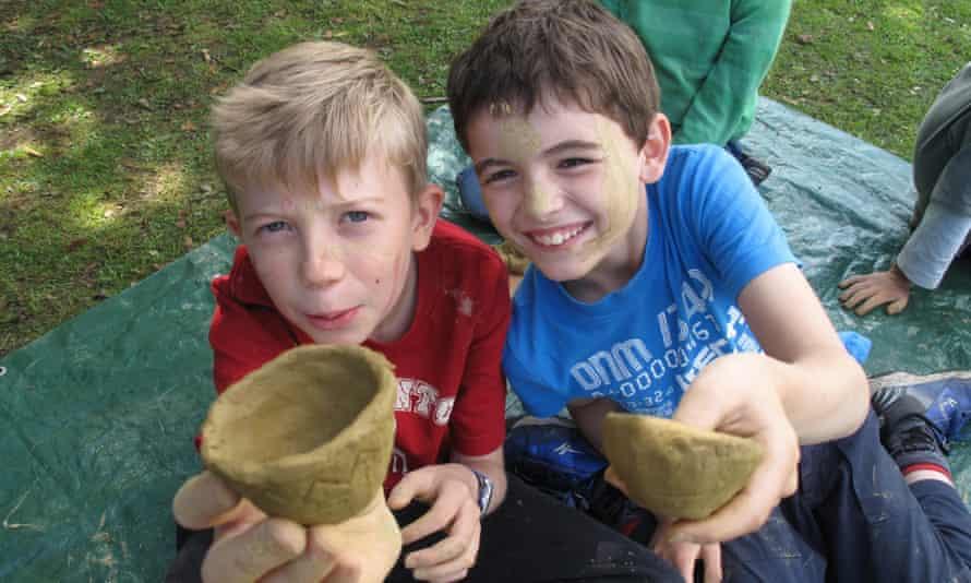 Bushcraft Camp. Wales