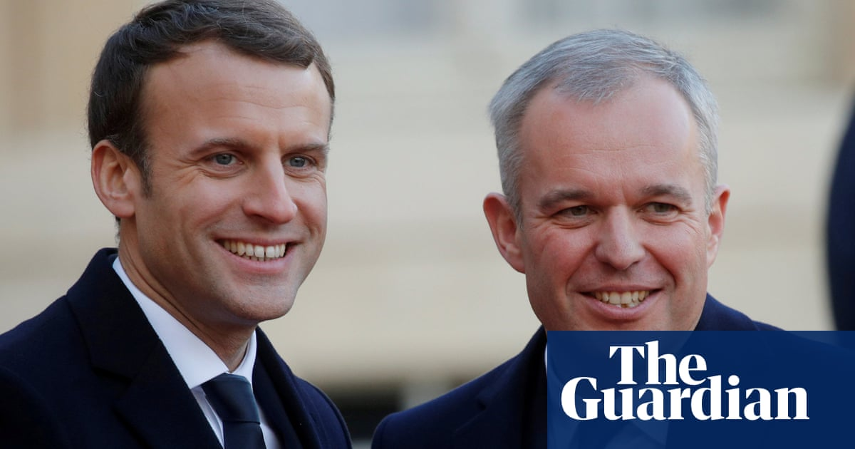 Emmanuel Macron under attack over climate change