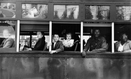 Trolley, New Orleans, 1955, from The Americans.