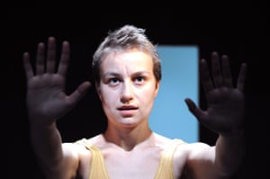 Anamaria Marinca in 4.48 Psychosis at the Young Vic, London, in July 2009