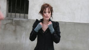 Parker Posey in Fay Grim.