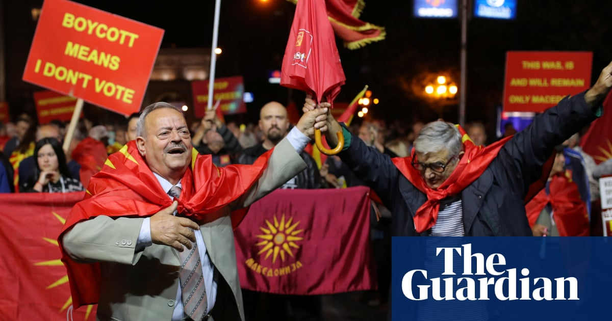 Result of Macedonia's referendum is another victory for Russia | Simon Tisdall