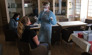 Hotel employees in Ischgl, Austria, are taking weekly Covid tests as a measure to minimise risk of infecting summer guests.