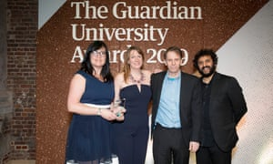 Sustainable buildings that inspire award winners University of West Scotland with host Nish Kumar