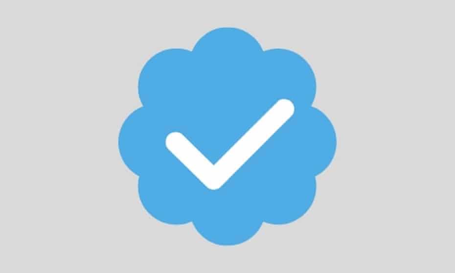 Twitter's blue tick verification logo