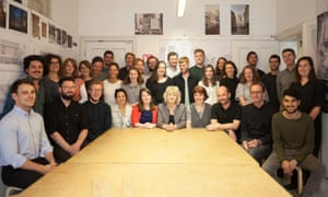 The team at Grafton Architects, winners of the 2020 RIBA gold medal.