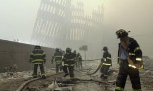 9/11 firefighters Ground Zero