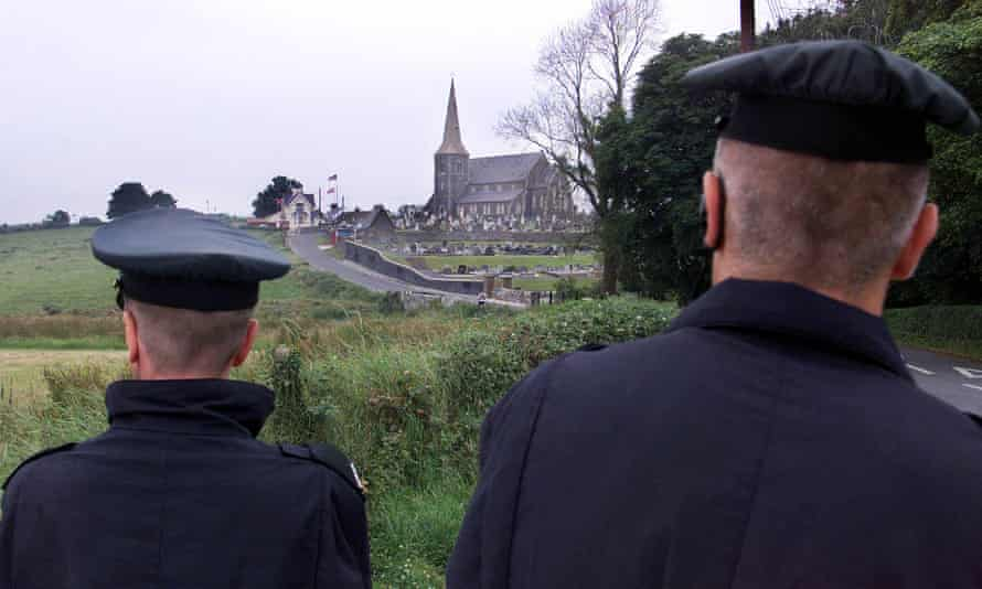 RUC officers on patrol in Northern Ireland in 2000
