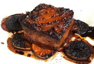 The glazed tofu roast