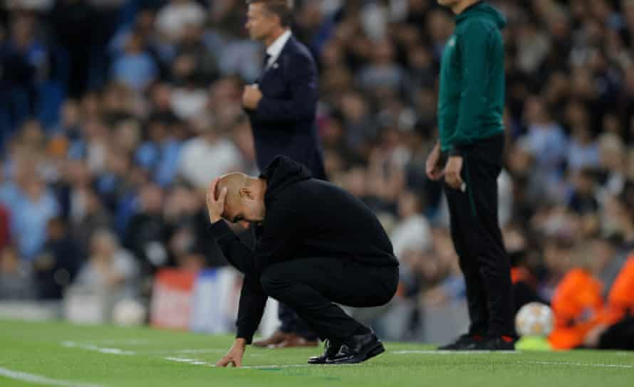 There were a number of concerns for Pep Guardiola during his 300th game in charge of Manchester City.