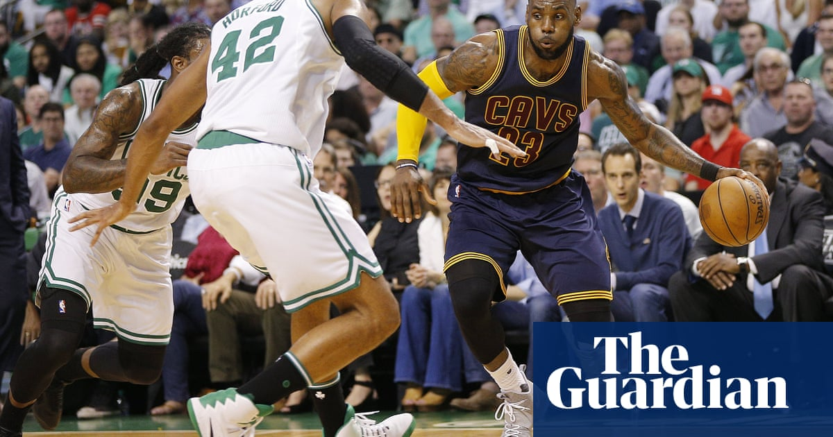 523436ffed0d LeBron James  38 points lift Cavaliers to Game 1 rout of Celtics in East  finals