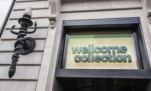 The Wellcome Collection in Euston Road, London