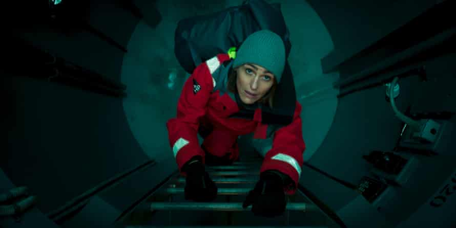 Poor welcome … DCI Amy Silva (Suranne Jones) comes aboard.