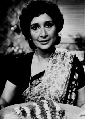 In 1981, in the BBC show Madhur Jaffrey's Indian Cookery.