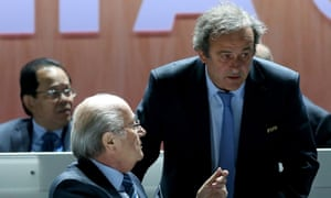 Sepp Blatter, the Fifa president and Michel Platini, the president of Uefa, were last week suspended from football activities for 90 days by the world football body's ethics committee.