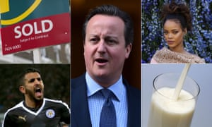 Starter for No 10: David Cameron might like to bone up on house prices, Rihanna, Riyad Mahrez and the price of a pint of milk.