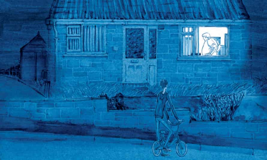 Detail from Joff Winterhart's 'masterpiece', Driving Short Distances.